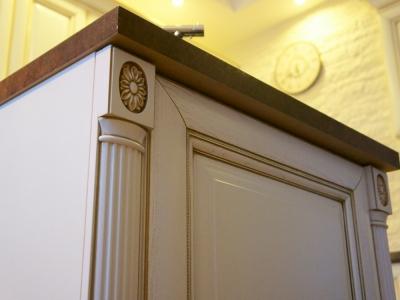 накладные декоративный элементы на торцах кухни