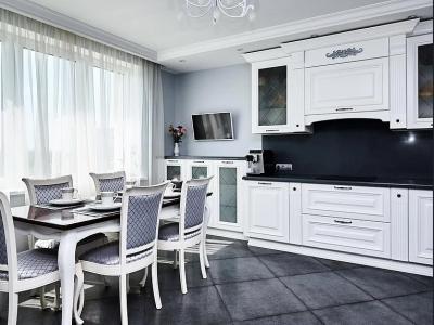 Угловая классическая кухня хороший вариант для среднего бюджета