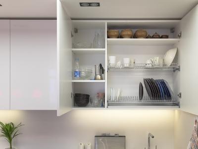 комбинированный шкаф с сушкой для посуды