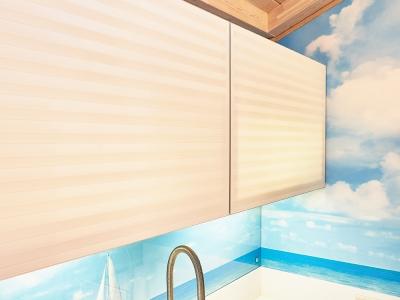 толщина стекла позволяет просвечивать фасады и придавать им больше нарядности