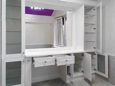 Внутренний объем ящиков и шкафов используется максимально эффективно.