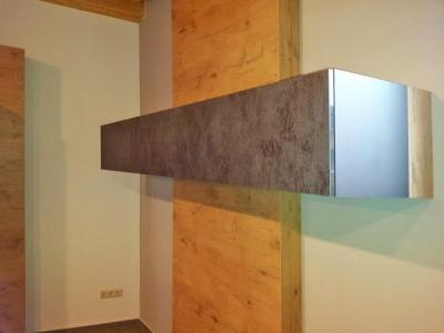 Также с кухонной мебелью возможное декорирование  стен, перегородок и других конструкций
