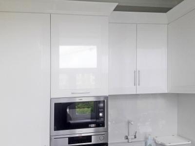 Данная модель кухни является копией итальянского производителя Brummel модель Diamond