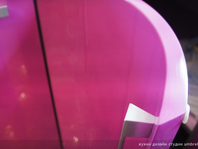 радусные фасады из лакированного мдф