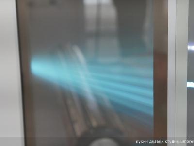 интересный рисунок от светодиодной подсветки