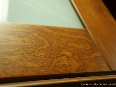 характерный рисунок древесины граба