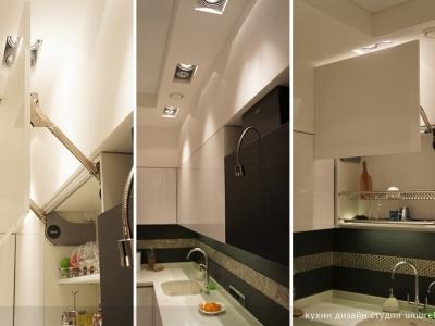 подъемники aventos hl обеспечивают доступ в углу кухни