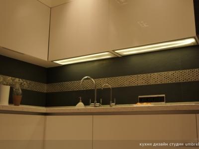 световые полки для подсветки кухни