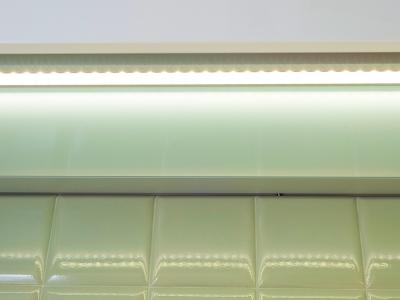 световые полки для кухни