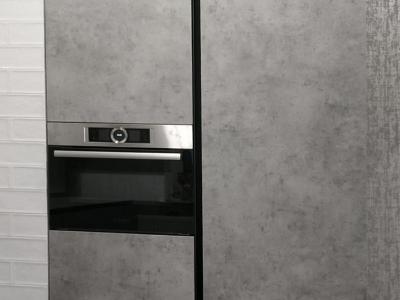 Бюджетная кухня лофт в квартиру - студию