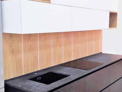 кухня керамика Oxide Nero. Ультра  современная модель.