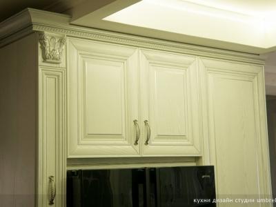 компоновка кухни вокруг холодильника