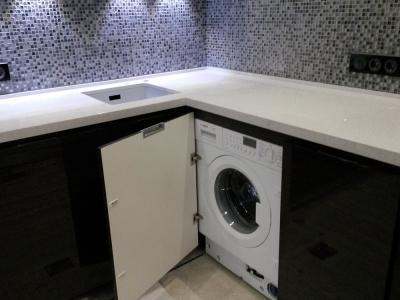 такой вариант- отличное решение при небольшой ванной комнате