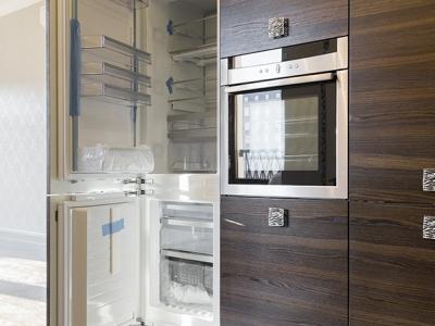 встраиваемый холодильник для кухни