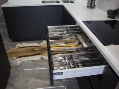Система хранения столовых приборов Orga-line из нержавеющей стали