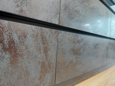 Керамические фасады с эффектом ржавчины