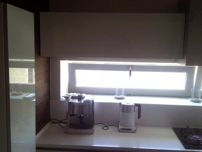 свет из окна на кухне- украшение любого интерьера
