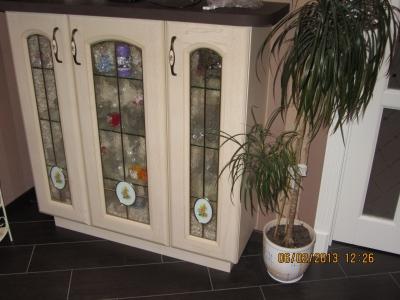 фьюжинговые декоры на фасадах кухни