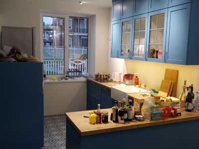 Классическая кухня в стиле Loft