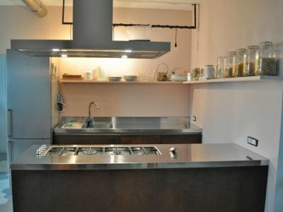 Кухня loft в индустриальном стиле
